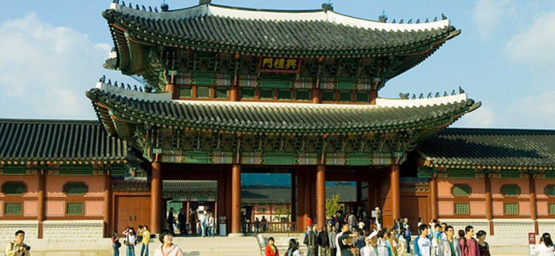 Cung điện đẹp nhất Hàn Quốc