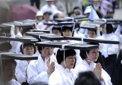 Hàn Quốc: Đội mộc bản kinh Phật diễu hành quanh thủ đô