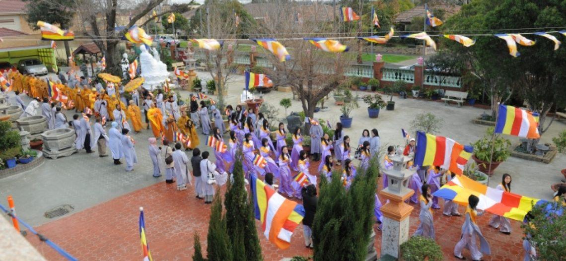 Lễ Khai Mạc Khóa An Cư Kiết Đông kỳ 12 tại Tu Viện Quảng Đức, Úc châu
