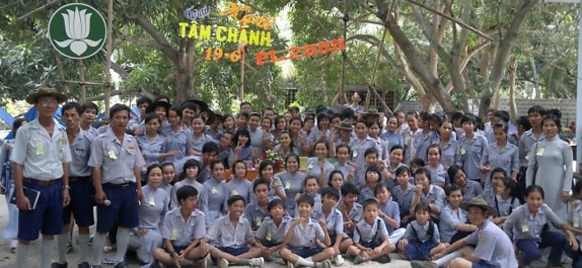 Trại Tâm Chánh Liên Đơn Vị BHD GĐPT Cam Ranh