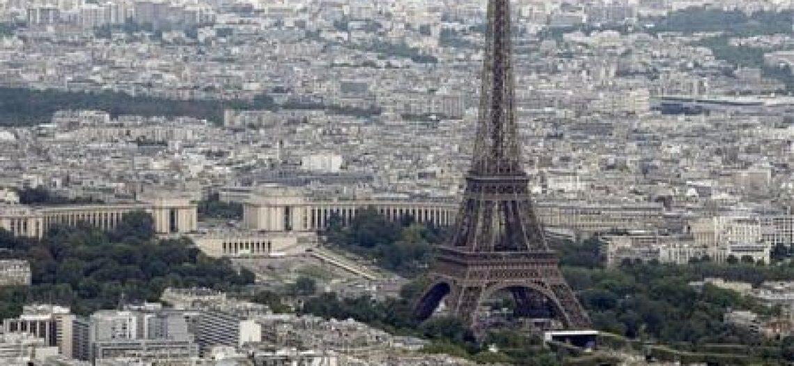 Paris tráng lệ nhìn từ trên cao