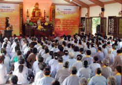 Thượng tọa Thích Chân Tính thuyết giảng tại chùa Bằng – Hà Nội