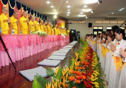 Đại lễ Vu Lan PL.2555 – DL. 2011 tổ chức tại chùa Hoằng Pháp.