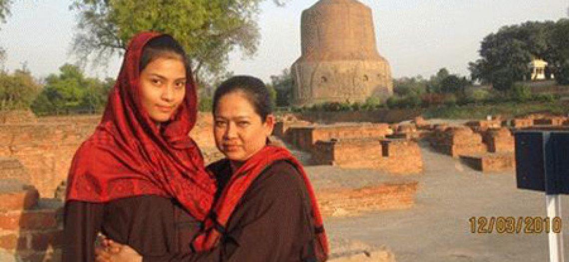 Những kiều nữ Việt thích… đi tu