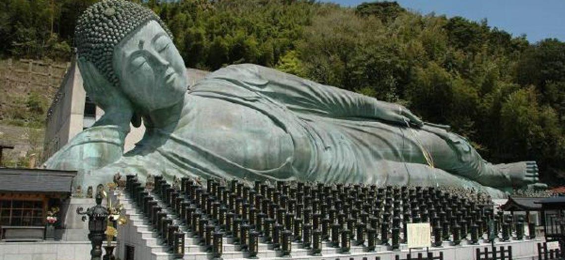 Tượng Phật niết bàn lớn nhất Thế giới ở Nhật Bản