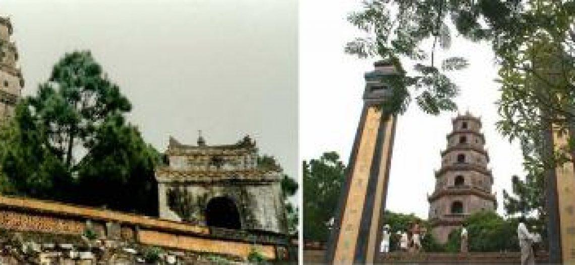 Ngôi chùa Thiên Mụ quê tôi