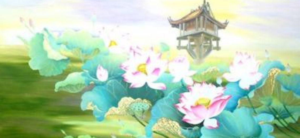 Họa sĩ Nguyễn Thị Tâm 'thì thầm' với sen