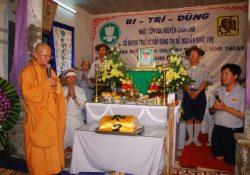 Trọn bộ hình ảnh tang lể Cố Htr Thị Đề – Nguyễn Khắc Thọ (12 bản tin)