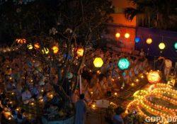 Đêm Hoa Đăng Vía Đức Phật A Di Đà – Diệu Giác Ni tự