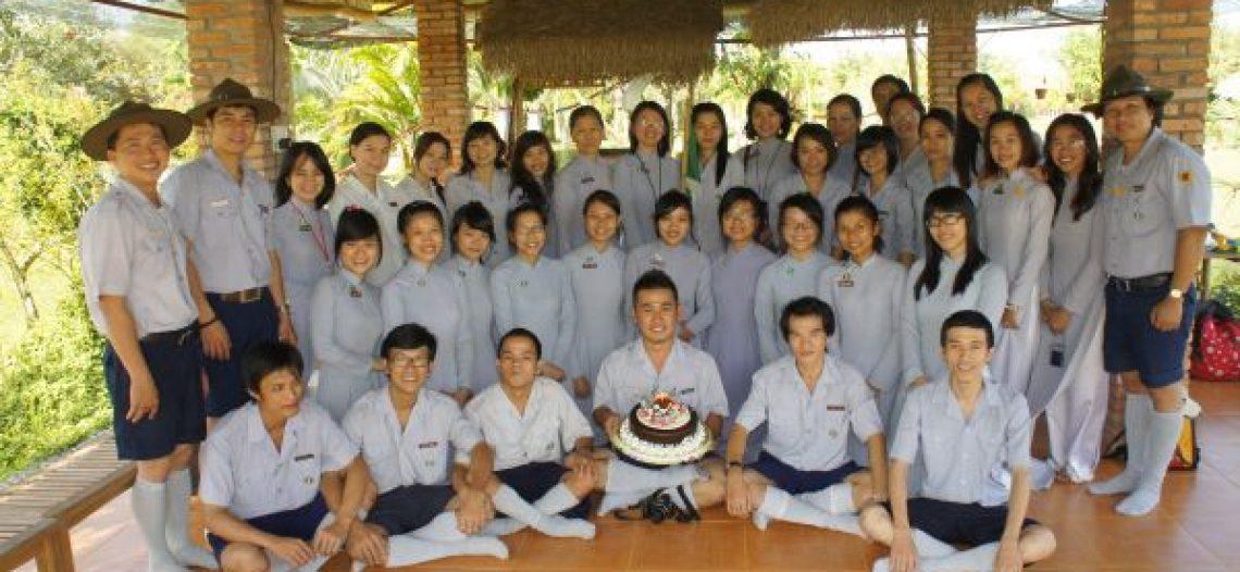 Sinh nhật lần 10 – Đoàn Nữ Phật tử, GĐPT Đức Tâm