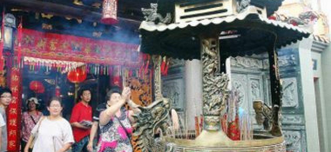 Phục hồi chùa Ho Ann Kiong