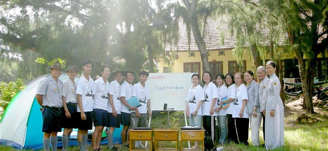 Nhật ký trại Huynh trưởng Ca Diếp 01, 2008 – GĐPT Đức Tâm