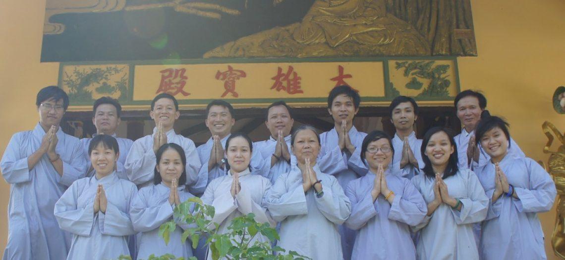 BHT Đức Tâm tham gia khóa tu Bát Quan Trai do BHD Gia Định tổ chức