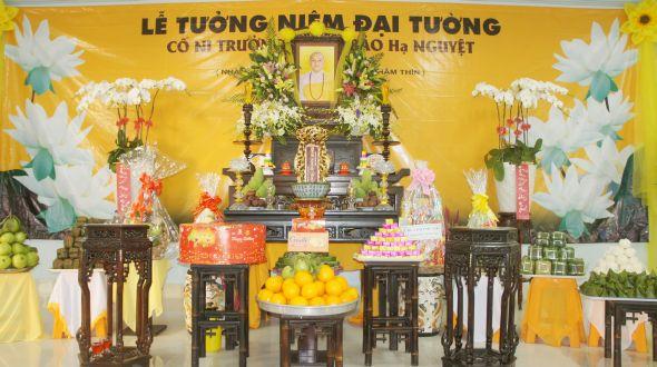 Le dai tuong co ni truong Bao Nguyet