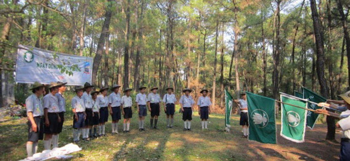 BHD GĐPT Thừa Thiên tổ chức Trại Dũng năm 2013