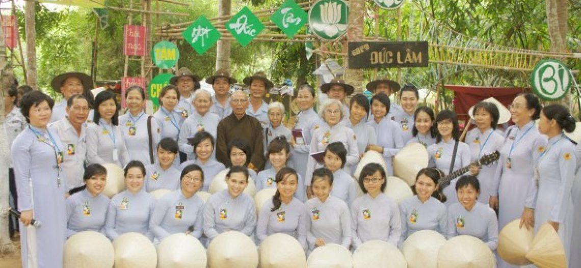 Ngành nữ Đức Tâm tại Hạnh, Tâm Chánh 25 do GĐPT Gia Định tổ chức