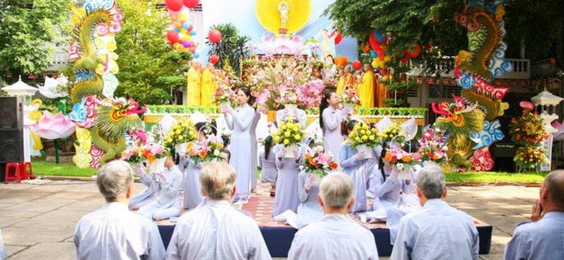 Đại lễ Phật Đản – PL 2557 tại Tu viện Quảng Hương Già Lam