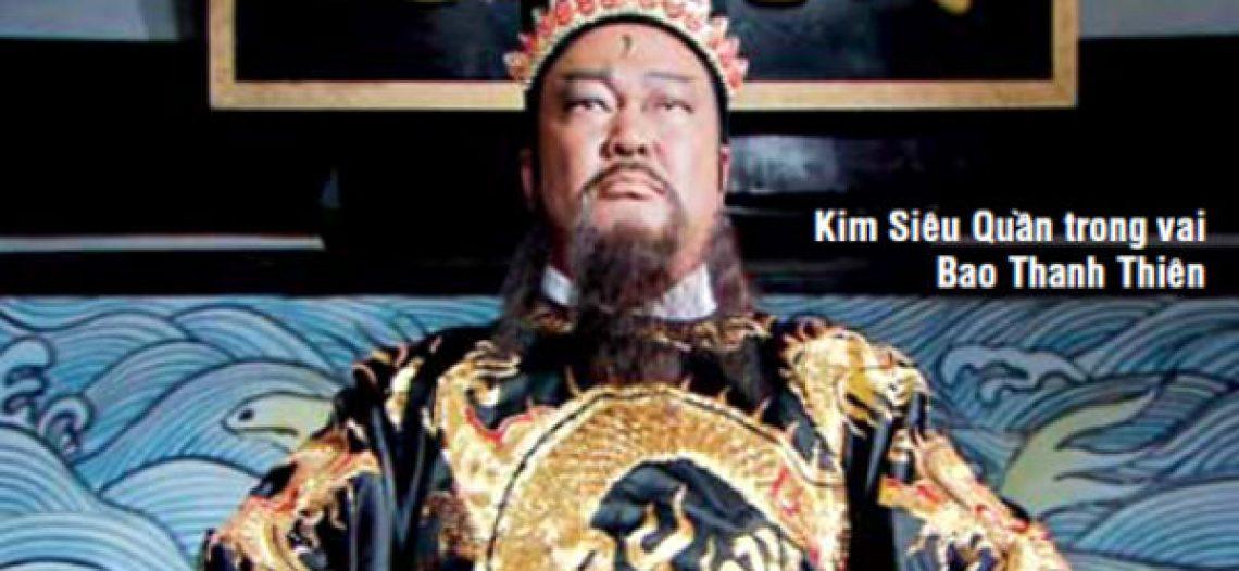 Sự thật sau lớp hoá trang nhân vật Bao Thanh Thiên