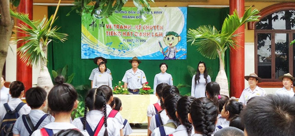 GĐPT Gia Định: Hội thi Vẽ tranh – Kể chuyện – Tiếng hát Oanh Lam