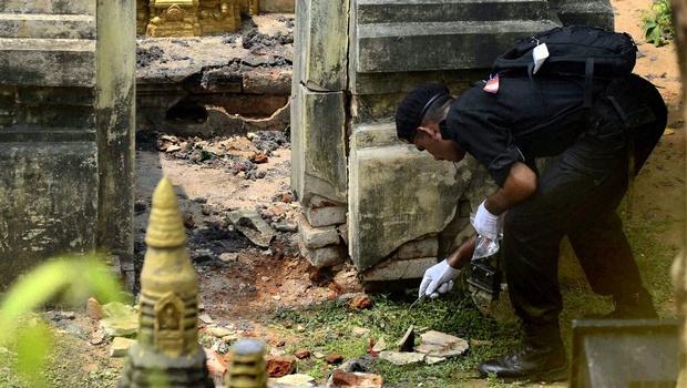 12 Hình ảnh Bồ Đề Đạo Tràng sau ngày bị đặt bom khủng bố GDPTDUCTAM.ORG