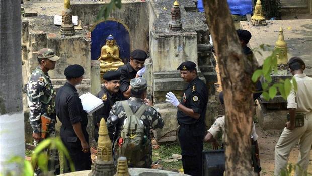 13 Hình ảnh Bồ Đề Đạo Tràng sau ngày bị đặt bom khủng bố GDPTDUCTAM.ORG