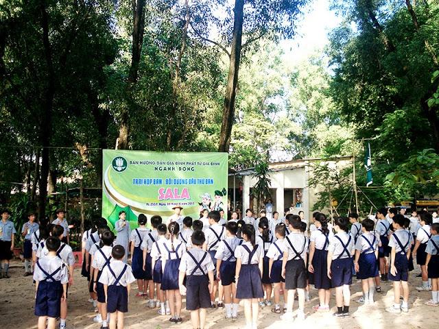 DauThuDan 004 Trại họp bạn Đầu Thứ Đàn GĐPT Gia Định