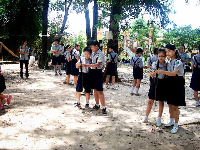 DauThuDan 084 Trại họp bạn Đầu Thứ Đàn GĐPT Gia Định