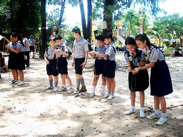 DauThuDan 085 Trại họp bạn Đầu Thứ Đàn GĐPT Gia Định