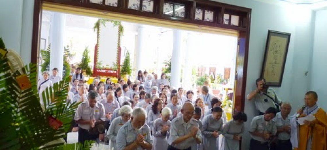 BHD Trung Ương GĐPT Việt Nam viếng tang Ni trưởng Hải Triều Âm