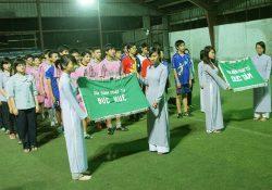 Trận bóng đá giao hữu Lục Hòa: GĐPT Đức Tâm – GĐPT Đức Huệ