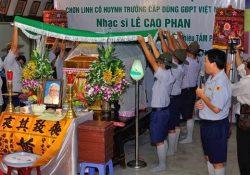 Lễ nhập quan và lễ phủ kỳ tang lễ HTr cấp Dũng: Quảng Hội – Lê Cao Phan